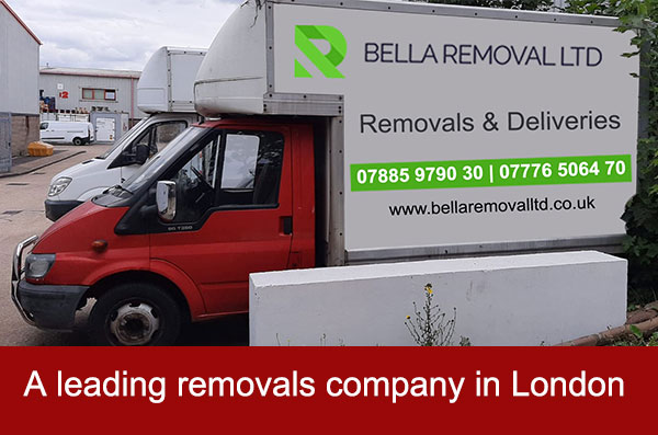 А leading removals company in London