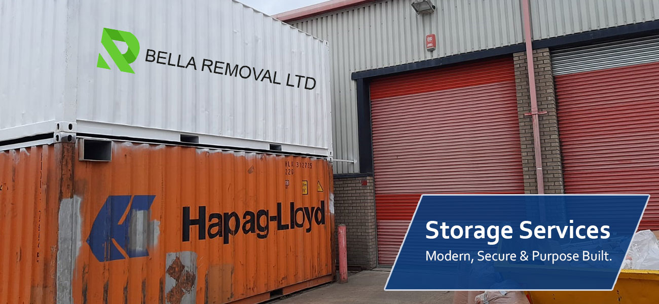 Affordable Storage Service in London